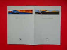 Prospekt / Katalog / Brochure Mercedes C208 CLK Elegance und Sport  06/97