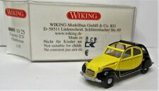 Wiking 1:87 Citroën 2 CV offen Ente OVP 0809 10 Charleston gelb / schwarz