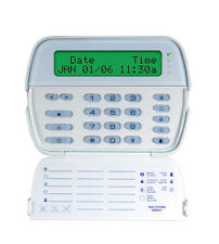 DSC RFK5500 LCD KEYPAD WITH RF RECEIVER BUILT INTO IT FOR WIRELESS DEVICES