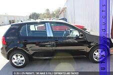 GTG 2006 - 2009 Volkswagen Rabbit 4dr Hatch 6PC Chrome Stainless Steel Pillars