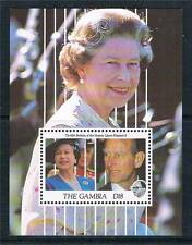Gambia 1991 Queens 65th Birthday MS 1169 MNH