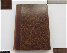 1900 ANTIQUE GERMAN LOGARITHMIC TABLES HARDCOVER BOOK