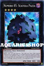 Yu-Gi-Oh! Numero 85 Scatola Pazza NUMH-IT033 SuperRara in ITA Crazy Box Zexal GX