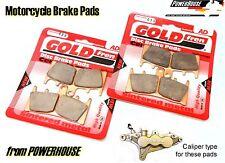 GoldFren front brake pads Suzuki GSXR GSX-R 1000 GSXR1000 K1 01 K2 02 EBC FA188