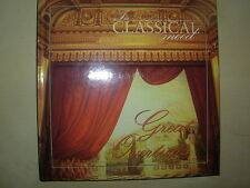 GREAT OVERTURES - IN CLASSICAL MOOD CD & BOOK VGC BEETHOVEN - MOZART - ROSSINI