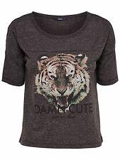 *775 NEU ONLY Damen Bluse Shirt T-Shirt onlLUCY S/S PRINT TOP kurz Gr. M 36 38