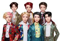 BTS Dolls Mattel Idol Dolls Jimin, J-Hope, RM, Jin, V, Jung Kook, SUGA