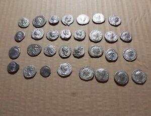 31 X Ancient Roman Silver Denarius