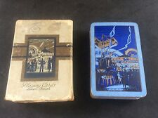 Vintage Boxed FAIRGROUND Horse Ride Merry Go Round Playing Cards In Box Case
