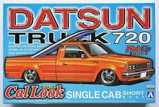 AOSHIMA 1/24 Datsun Truck 720 Cal-look single cab short body pickup truck #4 kit