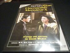 "DVD ""L'INCROYABLE MONSIEUR X"" Turhan BEY, Richard CARLSON / Bernard VORHAUS"