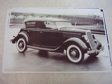 1935 FORD PHEATON  TOP UP  11 X 17  PHOTO /  PICTURE