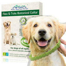 Natural Flea and Tick Control Prevention Collar for Small Large Dogs & Puppies