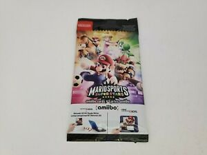 NEW Sealed Pack of 5 Nintendo Amiibo Cards Mario Sports Superstars EU Version A1
