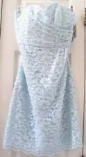 NEW! DAVIDS BRIDAL 6 LACE STRAPLESS CORSET BRIDE'S BRIDESMAID WEDDING DRESS $149