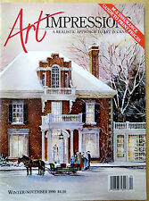 CANADIAN ART IMPRESSIONS MAG-NOV 90- ARTISTS:ROMANCE,WILSON,BERRY,LEDUC,SPORTS