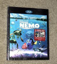 Disney Pixar Finding Nemo 3D Blu-ray 2012 5-Disc Set Digital Copy New slipcover