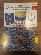 PANINI STICKER World Cup 2018  Megapack Album & 100 Packs