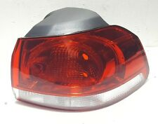 VW GOLF MK6 HATCHBACK 2009-2013 REAR TAIL LIGHT RIGHT DRIVER O/S