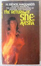 She (Ayesha #1) by H. Rider Haggard PB 1st Lancer