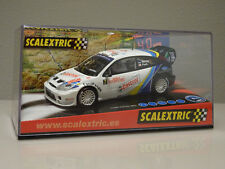 NUEVO A ESTRENAR COCHE SCALEXTRIC FORD FOCUS WRC MARTIN SLOT FLY TEAMSLOT RALLY