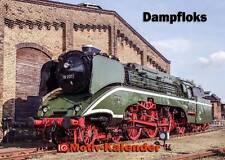 Dampfloks – Eisenbahn-Kalender A2 quer – ewiger Kalender