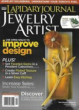 Lapidary Journal Jewelry Artist Magazine Faceted Gems Fluted Texture Sagenite