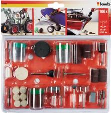kwb 510900 Set 106 accessori per mini smerigliatrici a stelo minitrapano trapano