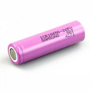Samsung Rechargable Battery  ICR18650-26F 2600mAh 3.7V