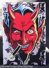 """Hot Rod Devil 2"""" X 3"""" Fridge / Locker Magnet. Coop"""