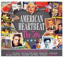 AMERICAN HEARTBEAT THE '50s - VARIOUS ARTISTS  (NEW SEALED 3CD)