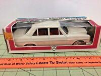 RARE vintage Japan tin friction Yone 1070 Mercedes Benz car! FREE shipping!
