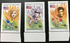 Hungary - 1984 World Cup - Marilyn Monroe, John Wayne, Elvis Presley - MNH