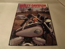 FREE SHIPPING Harley Davidson the Legend Grant Leonard 1997 Hardcover Book