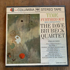 """THE DAVE BRUBECK QUARTET """"TIME FURTHER OUT"""" REEL TO REEL TAPE CQ 515 7 1/2 IPS"""
