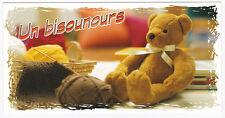 OURSON OURS nounours   carte postale n° 6026/21  Un bisounours