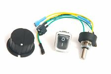 Potentiometer / Switch + Knob for Powakaddy Freeway / EDF -  Insulated Terminals