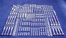 HONDA CR500 351 PIECE POLISHED STAINLESS STEEL BOLT KIT 1998-2001 CR 500