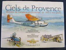Livre occasion CIELS DE PROVENCE Histoire de l'aviation Equinoxe avril 2010