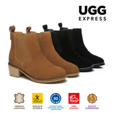 UGG Women Mini Boots Sylvia, Ladies Fashion Slip On Chelsea Ankle Boots