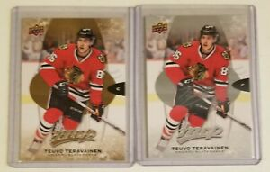 Teuvo Teravainen Chicago Blackhawks Upper Deck 2 NHL hockey card lot