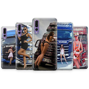SEXY GIRLS AND TRUCKS SCANIA PHONE CASES & COVERS FOR HUAWEI P10 P20 P30 P40