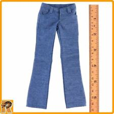 Mary Jane - Light Blue Jeans Pants #1 - 1/6 Scale - Flirty Girl Action Figures