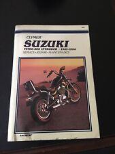Clymer Suzuki Vs700-800 Intruder Twins 1985-1994 - Paperback - GOOD