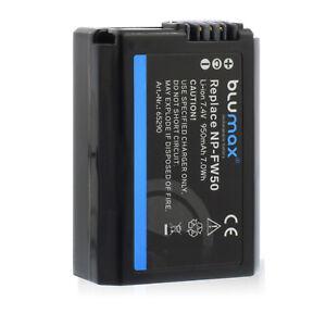 Akku für Sony NP-FW50   65290   Alpha 5000 6000 6500 7 II 7R 7S 7R II NEX 7 RX10