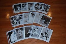 Lot of (14) different 2004 NY Yankees Daily News Old Timers Photos-NM