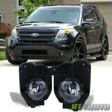 2011-2015 Ford Explorer [Original Style] Fog Lights Driving Lamps+Bracket+Switch