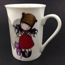 New listing Santoro's Gor Juss Purrrrfect Love Fine China Tea Coffee Mug England Cat Kitten