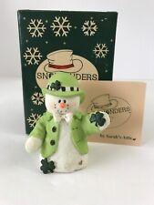 "Limited Edition ""Lucky� Snowonders By Sarah's Attic #57/0182 Coa Original Box"