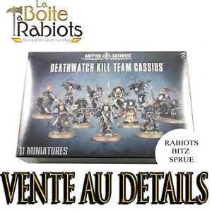 Warhammer 40000-Space marines-Kill team Cassius-Rabiots-Bitz-Sprue